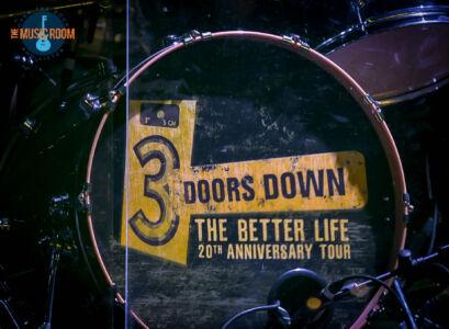 3 Doors Down Drum Head