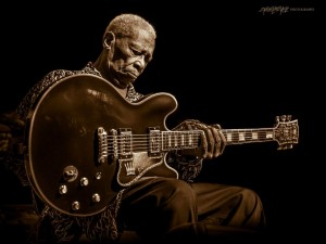 B.B. King - ©2013 Steve Ziegelmeyer