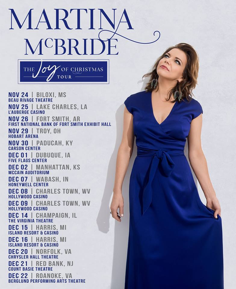 Martina McBride Brings The Joy Of Christmas