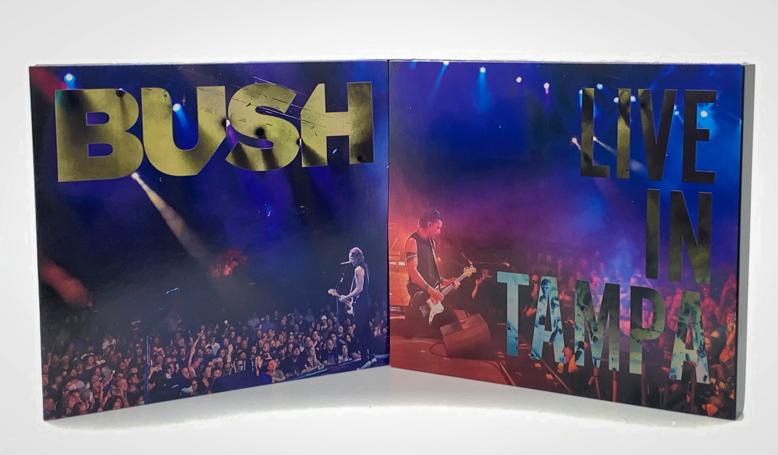 Inside artwork from Bush live album