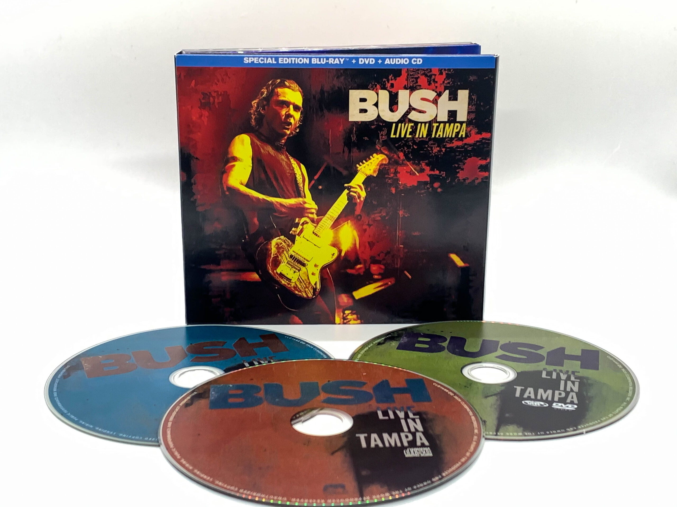 Bush: Live in Tampa packaging