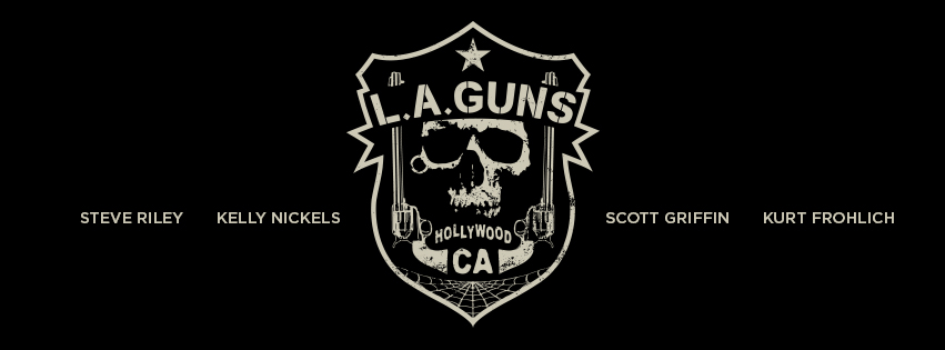 New L.A. Guns Badge