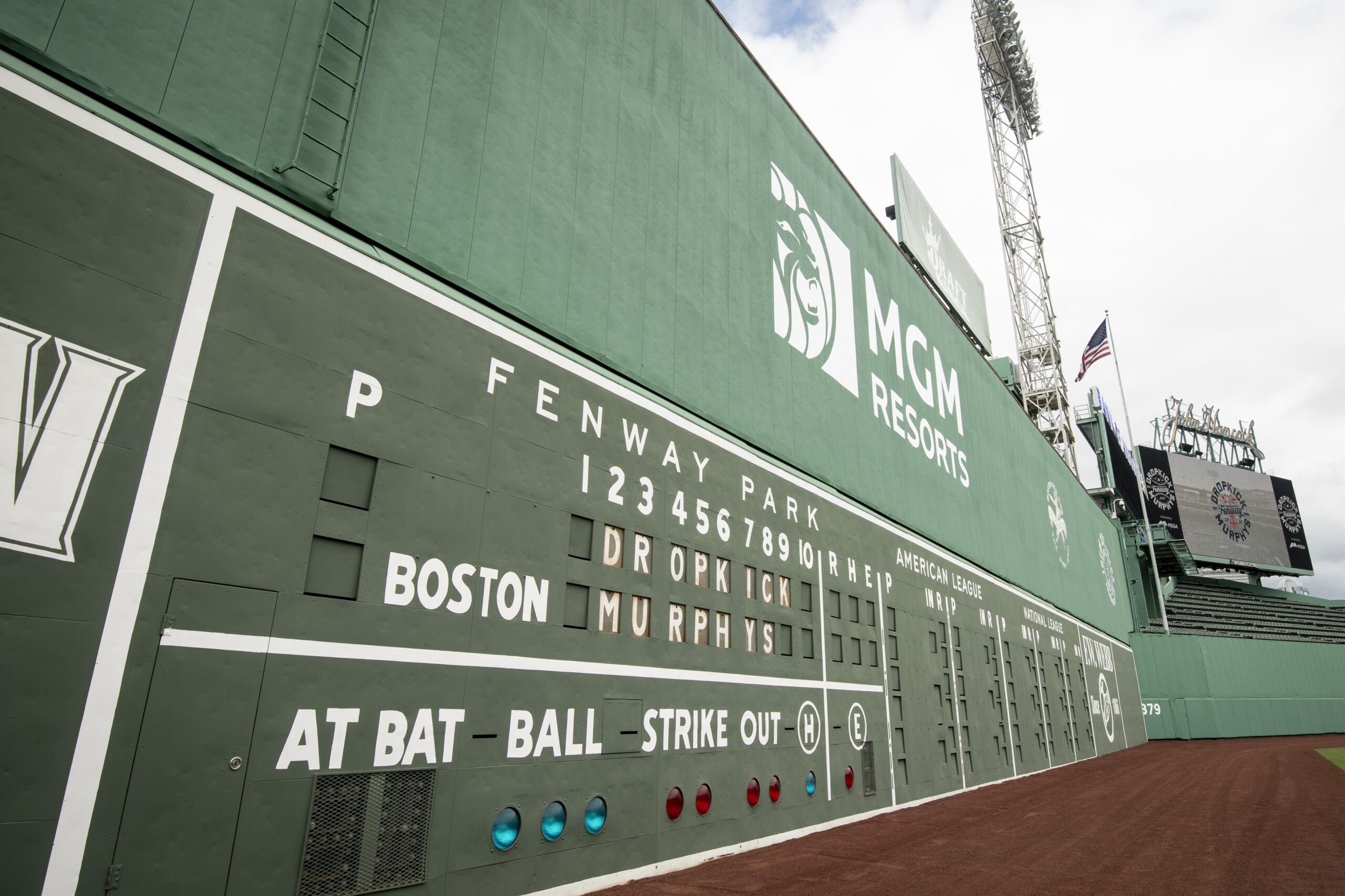 The Green Monster Scoreboard