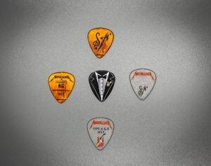 Metallica S&M2 Guitar Picks Back