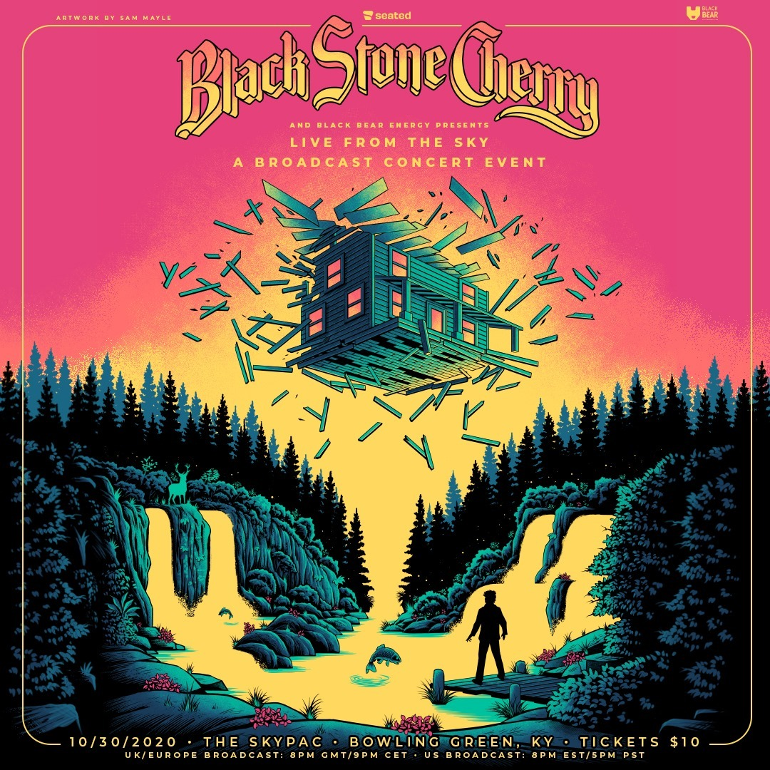 Black Stone Cherry Live From The Sky