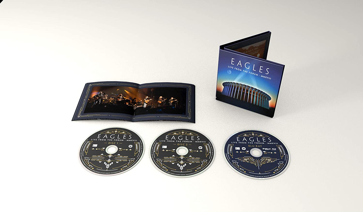 Eagles Live From The Forum Blu-ray