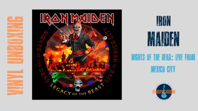 Iron Maiden Vinyl Unboxing