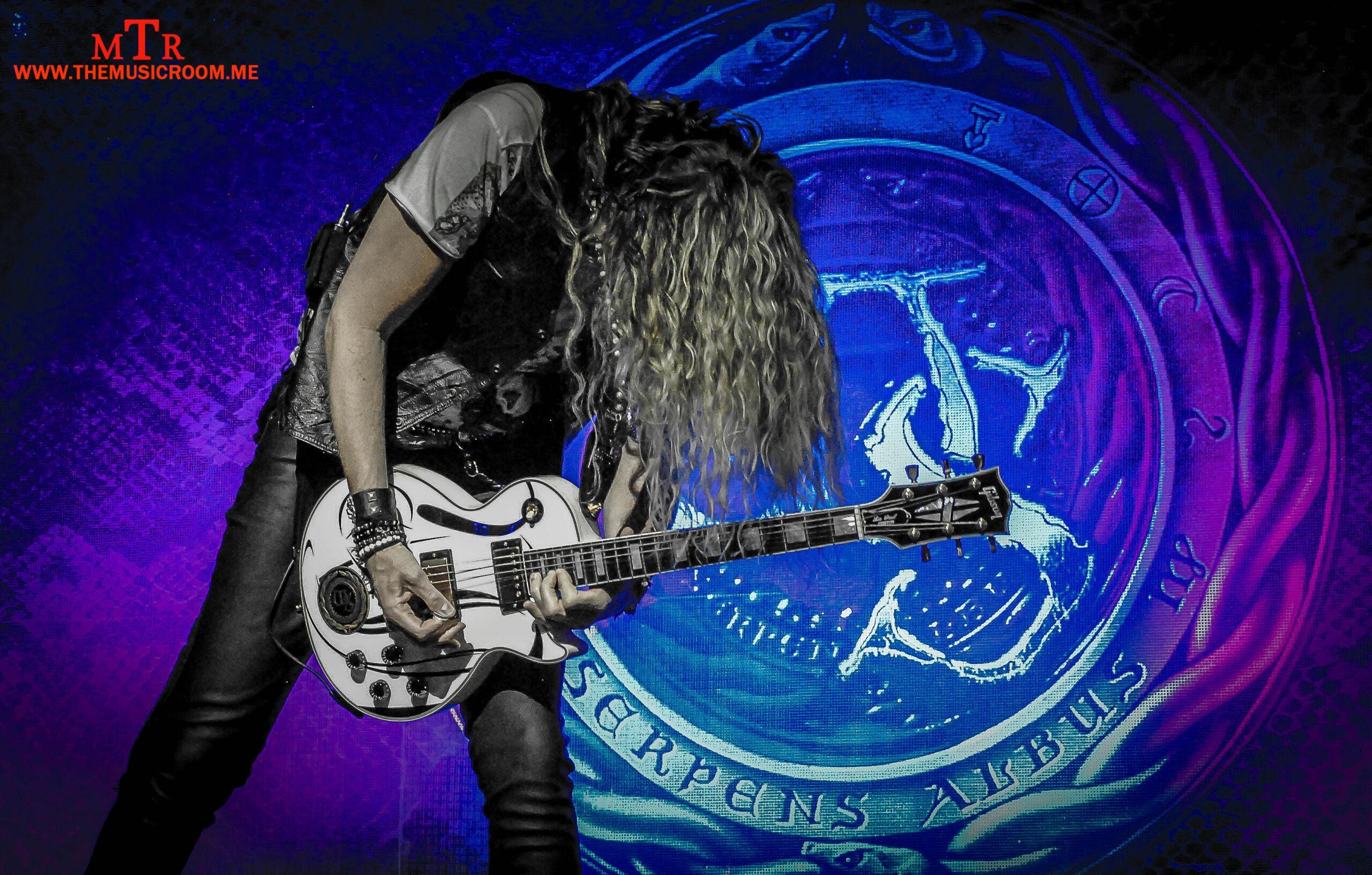 Joel Hoekstra Guitar Pose