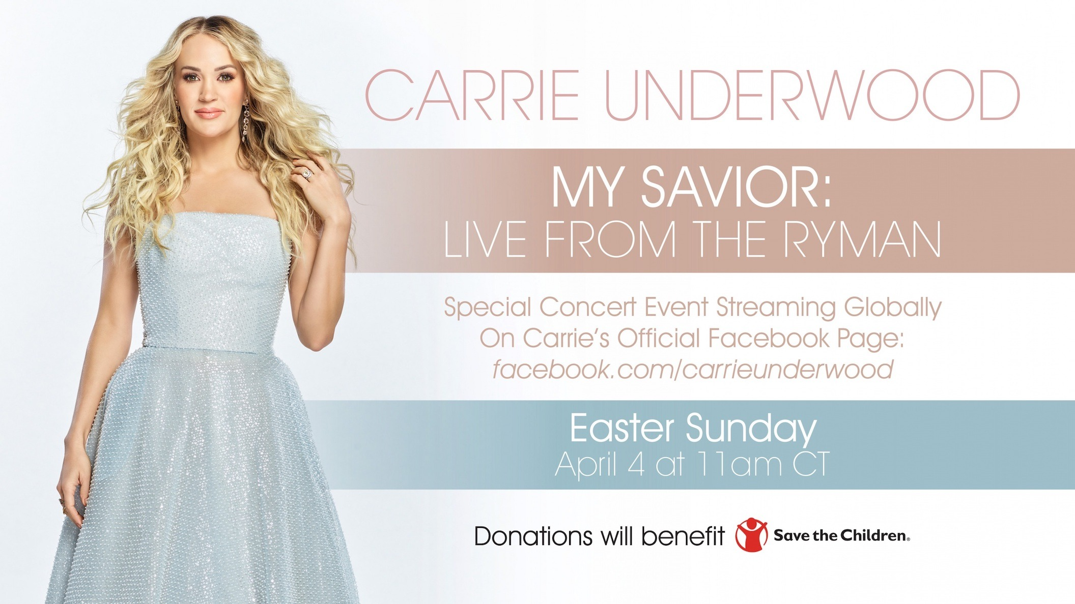 Carrie Underwood Live Easter