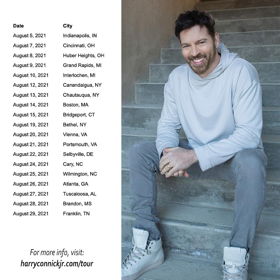 Harry Connick Jr Tour Dates
